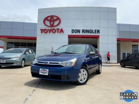 Pre-Owned 2009 Ford Focus S FWD 4D Sedan