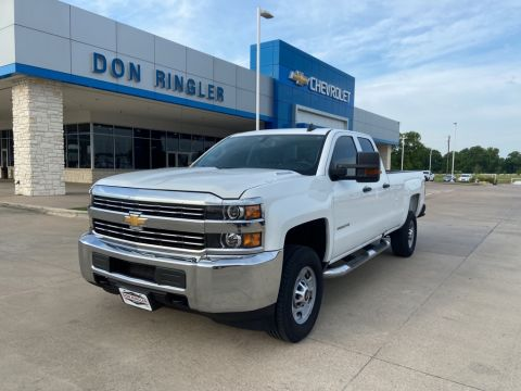 Pre-Owned 2016 Chevrolet Silverado 2500HD Work Truck RWD 4D Double Cab