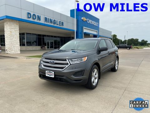 Pre-Owned 2018 Ford Edge SE FWD 4D Sport Utility