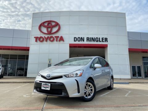 Certified Pre-Owned 2017 Toyota Prius v Two FWD Station Wagon